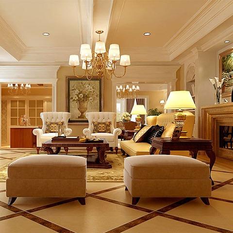 广州别墅装修 | 自然雅致的美式风格别墅