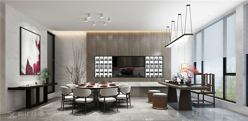 餐厅+茶区